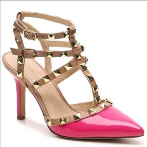Bcbg generation studded two tone heels